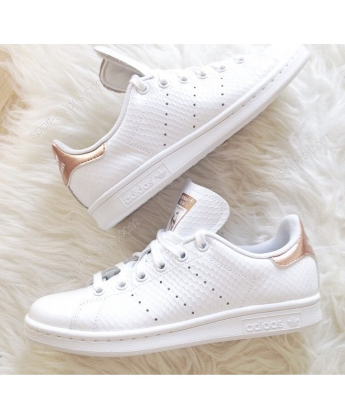 stan smith femme pas cher rose gold